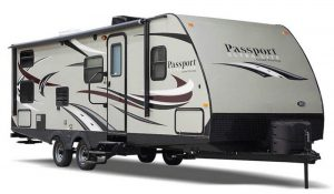 The Passport ULTRA-LITE Travel Trailers from Keystone RV.